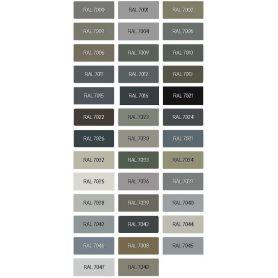 Ral Grey Opaque Nitro Enamel