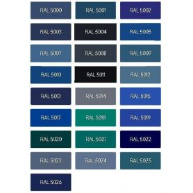 Ral Blue Light Acrylic enamel