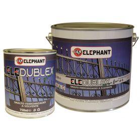 ELE DUBLEX solvent iron-solving enamel