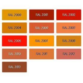 Synthetic Nail enamel Ral Orange