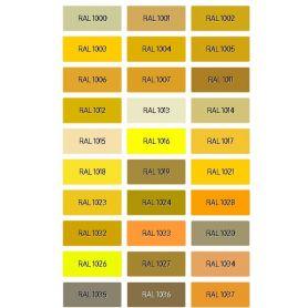 Enamel PU Lucid Ral Yellow