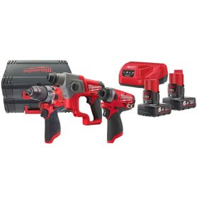 Trap - Taxer - Fuel 2 Battery 12V 6.0Ah MILWAUKEE M12FPP3A-602X