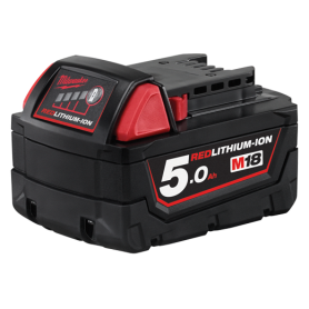 Batteria 18V 5.0ah Milwaukee M18B5