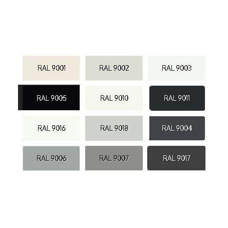 Enamel PU Opaque Ral Whites and Blacks