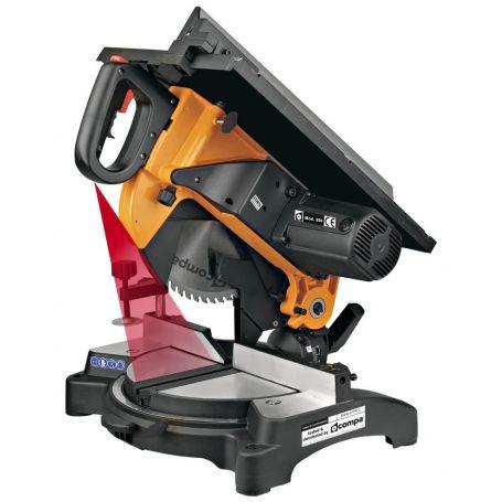 Portable professional Compa Orange 250 MULTICUT-PLUS